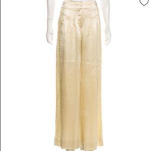 L WREN SCOTT silk pants
